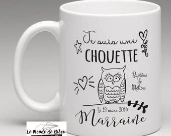 a great personalized gift for a nice godmother - Mug