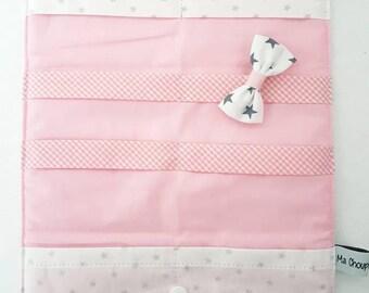 Origami, cotton strips Pocket * stars * large format