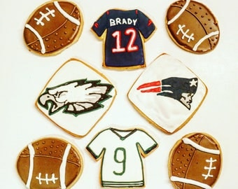 Superbowl cookies