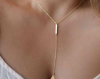 Geometric Rectangle and Triangle Choker, Gold Choker