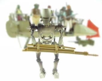 Hasbro Star Wars POTF 2 Carded Figure ASP-7 Droid 1997