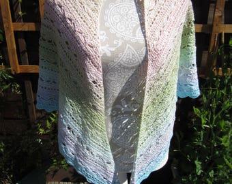 Handmade Crochet Bruinen Shawl