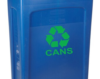 Recycle Decal, Recycle Sticker, Recycle Label,  Recycle Logo, Recycle Aluminum, Recycle Cans, Environment