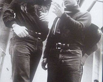 Simon And Garfunkel, New York, 1967 - Mounted Mini Poster