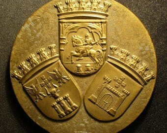 Portugal 50th Anniversary of Casa Do Alentejo Medal
