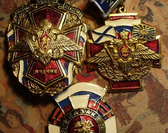 Three Russian Military Medals