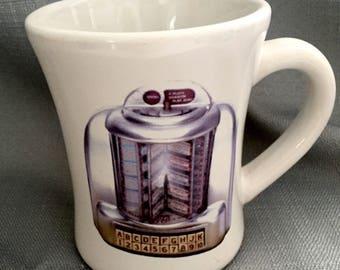 Vintage Style Jukebox Mug