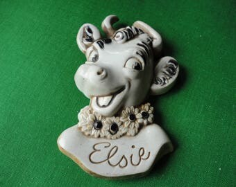 Elsie the Borden Cow Brooch