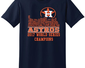 Houston Skyline - Astros T-Shirt