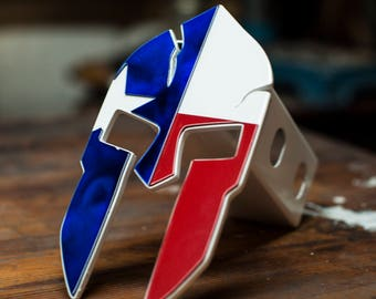Texas Spartan Trailer Hitch Cover