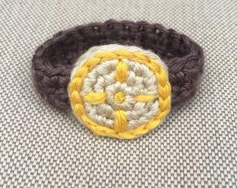Daniel Tiger's Watch (crochet)