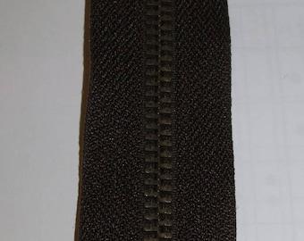 Zipper Brown jeans 12 cm