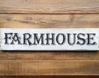 farmhouse sign, farmers market sign, farmhouse kitchen, farmhouse wall decor, wood sign, kitchen wall decor, kitchen decor, handpainted sign