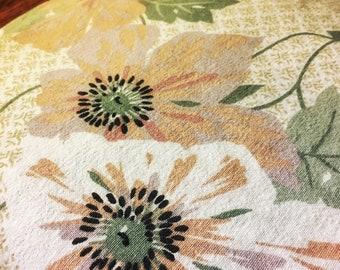 Vintage floral sheet set (full)