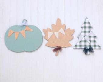 Fall/holiday smart sign shape bundle