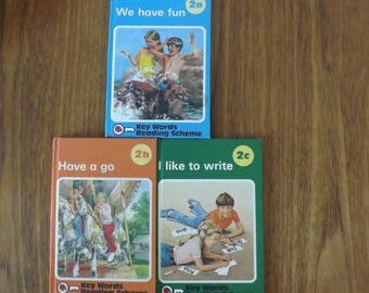 Ladybird Books Key Word Reading Scheme 2a 2b 2c I like to Write Have A go We Have Fun
