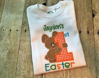 First Easter boy - Baby boy Easter outfit - Easter outfit baby boy - Easter shirt for boy - 1st Easter shirt - Toddler boy Easter shirt