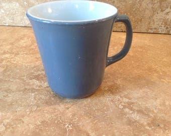 Colonial  blue pyrex mug