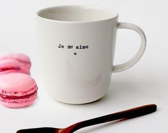 """Mug """"I love me"""""""