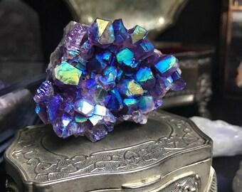 Amethyst Aura - crystal clusters