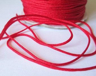 10 m 1.5 mm red nylon string