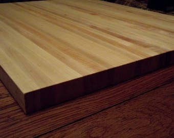 """24""""x28""""  1 1/4"""" thick  Hard Maple Cutting Board Perfect for restaurants or home  A heavy duty cutting service with the beauty of hardwood"""