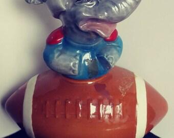 Jim Beam football decanters