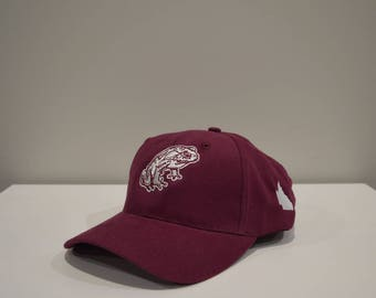 Cane Toad Mob Maroon Mum and Dad supporter cap