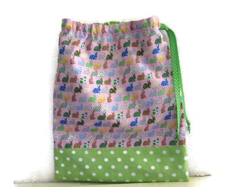 Bag for snack, pouch, kids tote bag, pouch towel canteen, lingerie