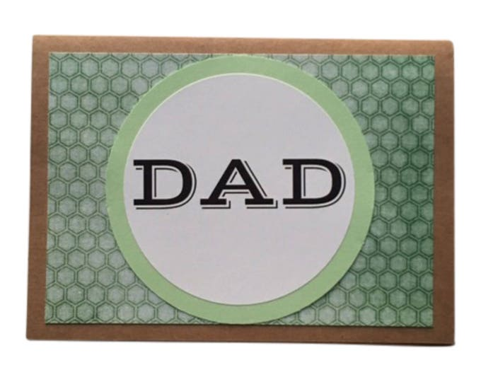 Father's Day Card, Birthday Card for Dad, Blank Card for Dad