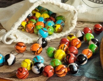 Extra marbles for Chinese checkers