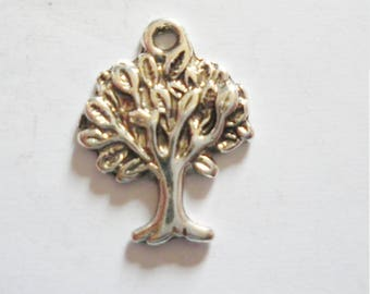2 pendant tree of life pattern