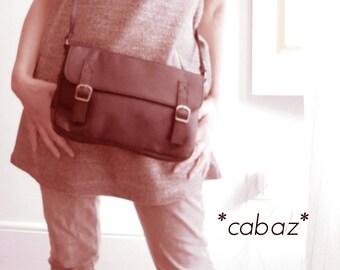 Handbag, leather, color tile