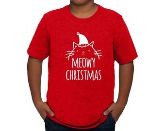 Meowy christmas | Etsy