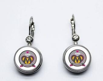 godmother earrings