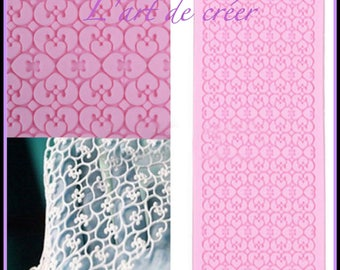 17cm x 7 cm, new lace Silicone mold, ideal for decoration