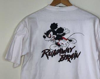 """Disney's Mickey, """"Runaway Brain"""" T-Shirt"""