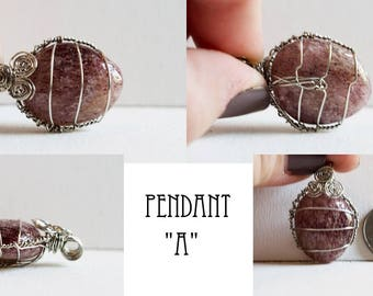 Berry Quartz Pendant