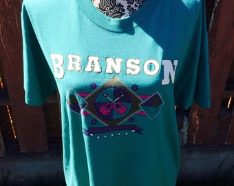 90s Vintage Branson Missouri Showtown USA Tee Size Large