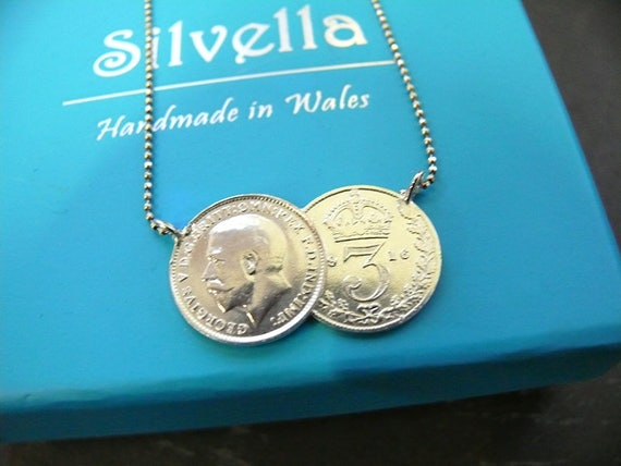 Thrupeny Necklace - Double Coin Necklace