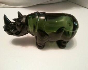 Vintage Avon Rhino after shave bottle