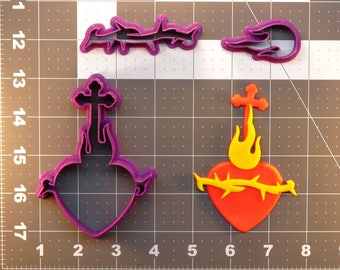 Scared Heart of Jesus 266-393 Cookie Cutter Set