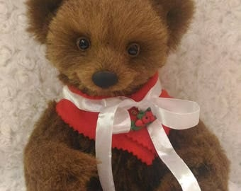 Amalia,  11 inches, 28 cm, Teddy Bear, OOAK