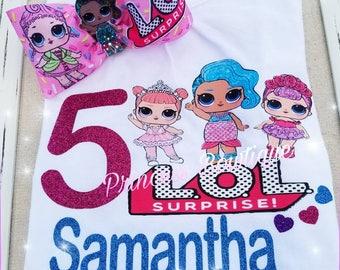 Lol surprise, lol surprise shirts,  lol surprise birthday shirts,  lol surprise dolls
