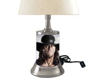 The Undertaker Lamp with shade