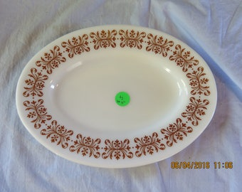 Vintage Pyrex 794-11 A Oval Tableware