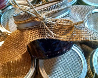 Wedding favor, single favor, Jam favors, Jam wedding favors, custom jam favor, custom favor, customizable, spread the love wedding favors