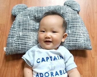 kids pillow, baby pillow, toddler pillow, bear pillow, baby shower gift, nursing pillow