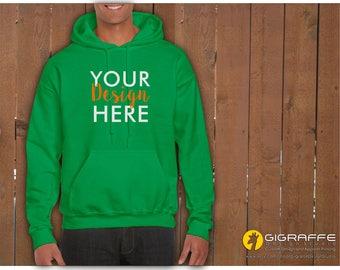 Custom UNISEX hoodies / Custom hoodie printing / Logo-text-graphic printing / Custom apparel / Apparel printing / Graphic hoodies