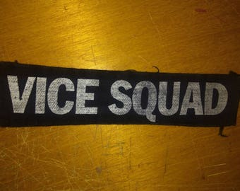 Vice Squad punk patch